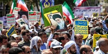 زنجانیها در حمایت از مواضع رهبری به خیابانها میآیند