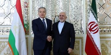 رایزنی وزرای خارجه ایران و تاجیکستان در تهران