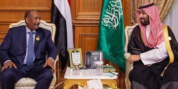 گفتوگوی تلفنی رئیس شورای حاکمیتی سودان با ولیعهد سعودی