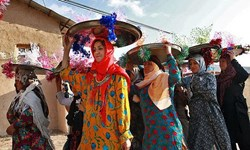 شادی عروسها از«گلین پایی» در عید فطر