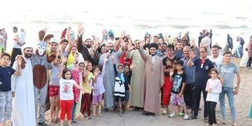 منبر ساحلی در عید فطر!