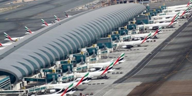 کاهش 64 درصدی مسافران فرودگاه دبی در 2020