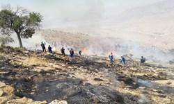 مهار کامل آتشسوزی در لارستان
