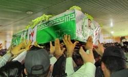 تشییع و خاکسپاری شهید نظم و امنیت در اندیمشک
