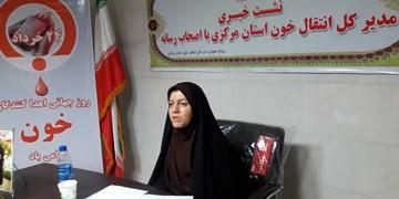 رتبه دوم بانوان استان مرکزی در اهدای خون