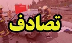 تصادف در جاده فیروزآباد 5 کشته داشت