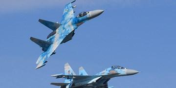 رهگیری بمب افکنهای راهبردی آمریکا از سوی  جنگندههای  «سوخو- 27» روسیه