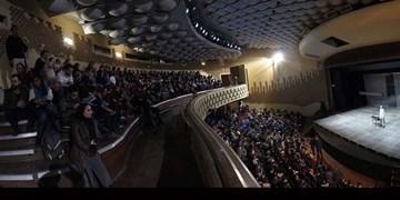هفت نمایش در تالارهای مختلف مجموعه تئاتر شهر به صحنه میروند