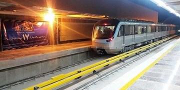 ایستگاه «45 متری گلشهر» قطار شهری کرج به خط پایان رسید