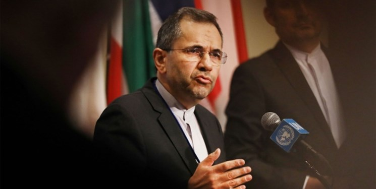 نامه ایران به سازمان ملل در ارتباط با رهگیری هواپیمای مسافری از سوی جنگندههای آمریکایی