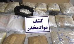 کشف 42 کیلوگرم موادمخدر و 153 میلیون ریال کالای قاچاق توسط مرزبانان خراسان رضوی