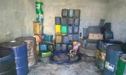 کشف 40 هزار لیتر سوخت دپو شده در زنجان