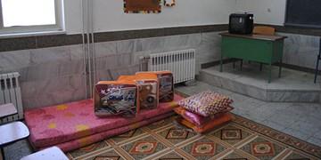 اسکان مسافران نوروزی رفسنجان در 11 مدرسه