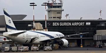 تمامی پروازها به تلآویو به یونان و قبرس منتقل شدند