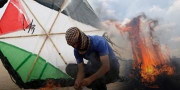 غزه| ارسال بالنهای آتشزا به سمت شهرکهای صهیونیستی