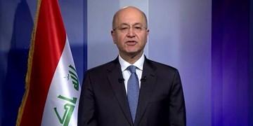 عضو پارلمان عراق: برهم صالح در معرض استیضاح است