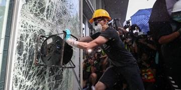 ادامه اعتراضات در هنگ کنگ؛ معترضان با پلیس درگیر شدند