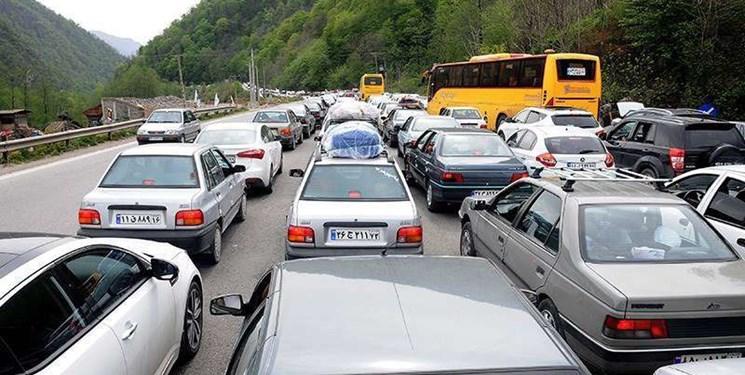 ترافیک سنگین در جاده فیروزکوه/محدودیت تردد در هراز و کندوان از 13 تیر