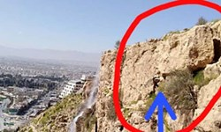 خرد کردن سنگ ناایمن «دروازه قرآن» شیراز