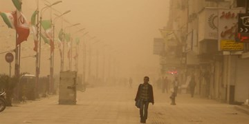 وزش باد نسبتا شدید و گردوخاک در سیستان و بلوچستان