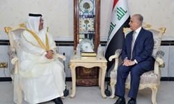 دیدار سفیر بحرین با وزیر خارجه عراق