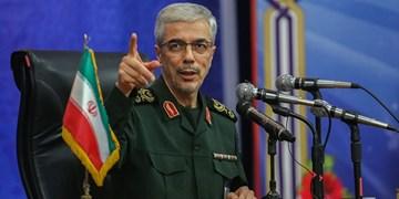 سرلشکر باقری: امروز هیچ قدرتی قادر به غلبه بر سپاه پاسداران نیست