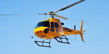 بالگرد اورژانس برای نجات جان کودک 6 ماهه کوهرنگی به پرواز درآمد
