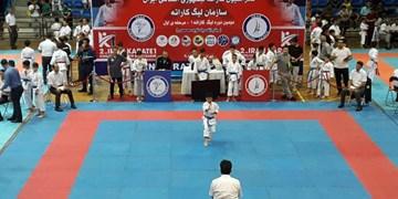 گزارش فارس از مرحله نخست لیگ کاراته وان ایران