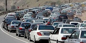ترافیک نیمهسنگین در محور هراز/ حضور گردشگران در آبعلی علت اصلی ترافیک