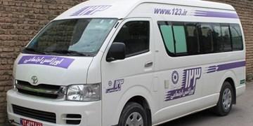 فعالیت 5 خط 123 در شهرستانهای استان زنجان