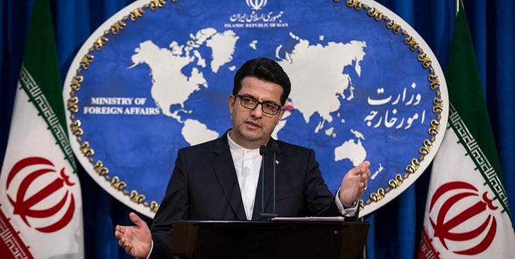 موسوی: عادلخواه تبعه ایران است و به اتهام جاسوسی بازداشت شده