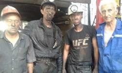 نجات 4 معدنچی از زیر آوار در شمال تاجیکستان