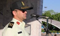 صبحگاه مشترک نیروهای مسلح  زنجان  به مناسبت هفته ناجا برگزار شد