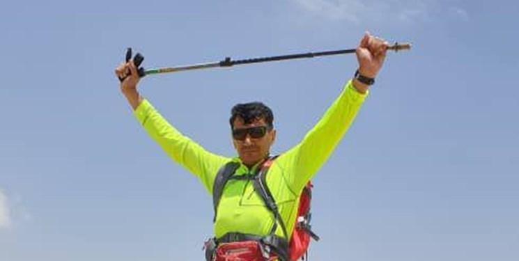 حکمرانی کوهنورد یاسوجی در آلپ ایران/ ماجراجویی مرد 119 کیلویی سالهای پیش+تصاویر