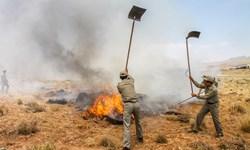 عامل انسانی؛ علت وقوع 95 درصد حریق مراتع شاهرود
