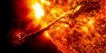 تلسکوپی که طوفان خورشیدی را ردیابی میکند