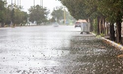 بارشهای پراکنده مهمان آسمان مازندران