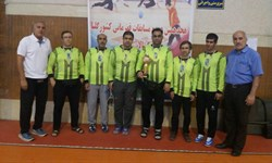 کرمانشاه بر سکوی سوم مسابقات کشوری گلبال نابینایان و کمبینایان ایستاد
