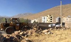 رفع تصرف 1200 مترمربع از اراضی دولتی شازند