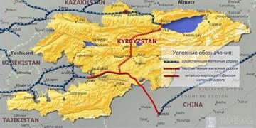 سود 200 میلیون دلاری قرقیزها از راهآهن چین- قرقیزستان- ازبکستان