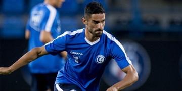 لیگ فوتبال بلژیک شکست خنت بدون محمدی