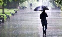 بارش باران در مناطق مرکزی و جنوبی استان اردبیل