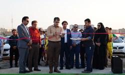 چمن جدید ورزشگاه شهید احمدپور شهرداری بندر ماهشهر رونمایی شد