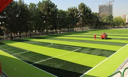زمین فوتبال شماره 2 استادیوم آزادی چمن مصنوعی میشود