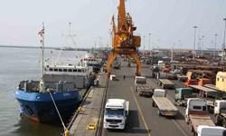 کشتی 10 هزار تُنی برنج در بندر بوشهر تخلیه میشود