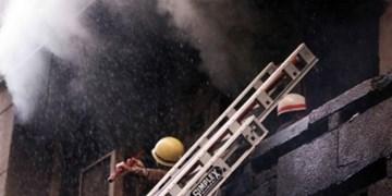 عکس| آتشسوزی گسترده در دهلی نو، حداقل ۶ کشته بر جا گذاشت
