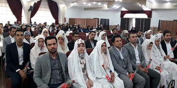 جشن پیوند آسمانی 47 زوج خانواده سپاه در گلستان برگزار شد+ تصاویر
