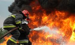 آتشسوزی در بازارگل امامرضا(ع)/ ۳۰ غرفه طعمه حریق شد