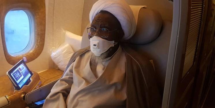 شیخ ابراهیم زکزاکی نیجریه را به مقصد هندوستان ترک کرد