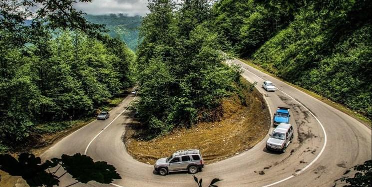 تردد روان در جادههای شمال/ترافیک سنگین در آزادراه قزوین-کرج